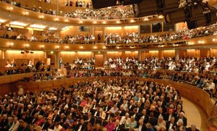 The main auditorium at Glyndebourne
